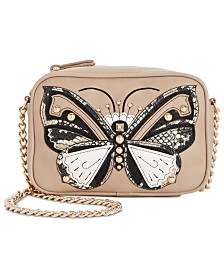 I.N.C. Butterfly Camera Crossbody, Created for Macy's