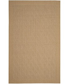 Palm Beach Maize 4' x 6' Sisal Weave Area Rug