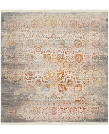 Safavieh Vintage Persian Gray and Multi 5' x 5' Square Area Rug