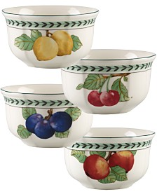 Villeroy & Boch French Garden Modern Fruit Set/4 Small Fruit Bowl