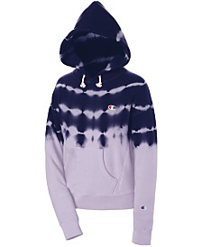 Champion Reverse Weave Streak-Dyed Hoodie
