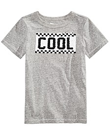 Epic Threads Little Boys Cool Dude Sequin Graphic T-Shirt, Created for Macy's