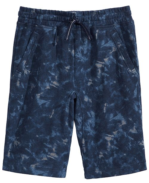 Epic Threads Big Boys Tie-Dye Knit Shorts, Created for Macy's