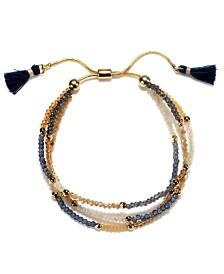 Capwell & Co. Beaded Tassel Bracelet