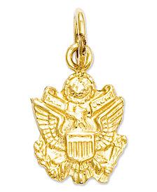 14k Gold Charm, U.S. Army Insignia Charm