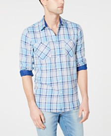 American Rag Men's Jared Plaid Shirt