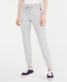 Tommy Hilfiger Sport Piped-Trim Jogger Pants