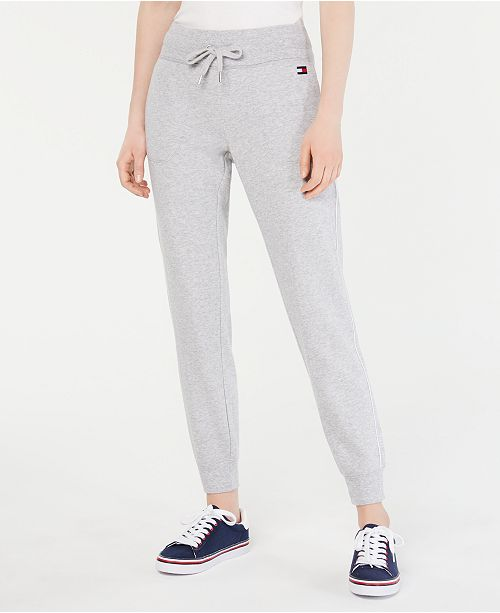 Tommy Hilfiger Piped-Trim Jogger Pants