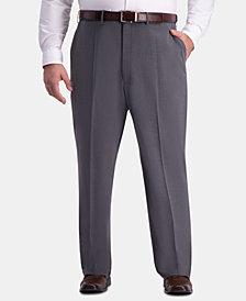 J.M. Haggar Men's Big & Tall Classic-Fit Stretch Flat-Front Dress Pants