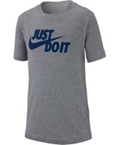 ef549967acff Nike Big Boys Just Do It Graphic Cotton T-Shirt