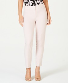 Nine West Stretch Straight-Leg Pants
