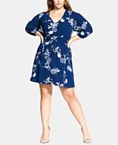 2e3b4c6bf34 City Chic Trendy Plus Size Printed Drawstring Tunic