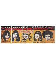 Girl Power 5 Pc Wall Art in Multi