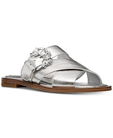 MICHAEL Michael Kors Frieda Slide Flat Sandals