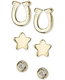 Kitsch Gold-Tone 6-Pc. Set Stud Earrings