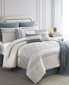 Siya 10-Pc. California King Comforter Set, Created for Macy's