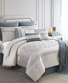 Siya 10-Pc. California King Comforter Set, Created for Macy's