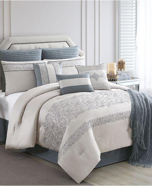Closeout Siya 10 Pc King Comforter