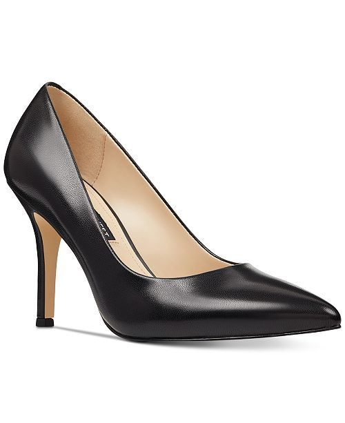 Nine West Flax Pointed Toe Pumps   Reviews - Pumps - Shoes - Macy s