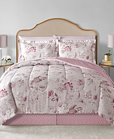 CLOSEOUT! Lauren Reversible 8-Pc. Comforter Sets