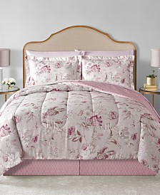 Lauren Reversible 6-Pc. Twin XL Comforter Set