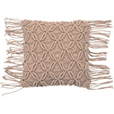 "French Connection Avery Decorative 18"" x 18"" Throw Pillows"
