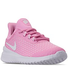 Nike Little Girls' Rival Running Sneakers from Finish Line