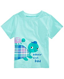 First Impressions Toddler Boys Turtle Dad T-Shirt, Created for Macy's