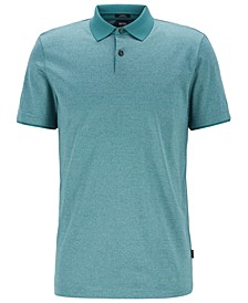 BOSS Men's Slim Fit Cotton Polo