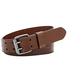 Fossil Men's Murray Brown Leather Belt