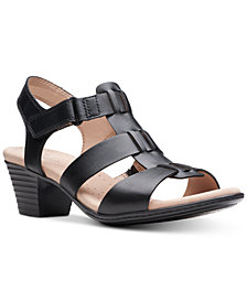 Clarks Collection Women's Valarie Kerry Sandals, Created for Macy's