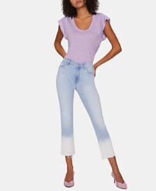 Sanctuary Modern Standard Dip-Dye Straight-Leg Jeans