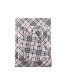 True North by Sleep Philosophy 4-Pc. Cotton Flannel Queen Sheet Set