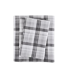 Cotton Flannel 4-Pc. Queen Sheet Set