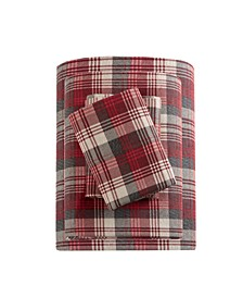 Cotton Flannel 4-Pc. California King Sheet Set