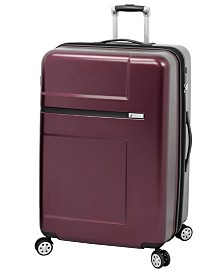 """London Fog Southbury 25"""" Hardside Expandable Spinner Suitcase, Created for Macy's"""
