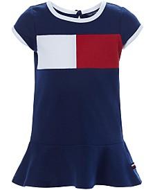 Tommy Hilfiger Baby Girls Colorblocked Flag Logo Knit Dress