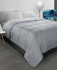 All-Season Soft Brushed Microfiber Down-Alternative Comforter - Twin