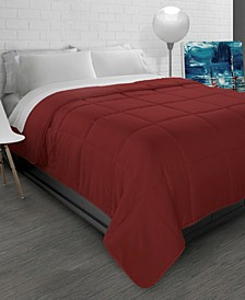 All-Season Soft Brushed Microfiber Down-Alternative Comforter - Full/Queen
