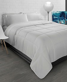 All-Season Soft Brushed Microfiber Down-Alternative Comforter - Twin