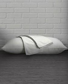 100% Cotton Percale Pillow Protector With Hidden Zipper (Set of 2) - King
