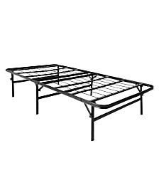 "Structures 18"" High Rise LTH Folding Platform Bed Frame, Twin XL"