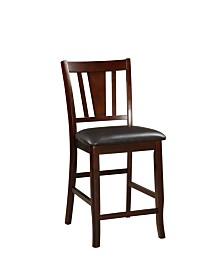 Benzara Wooden High Chair, Set of 2