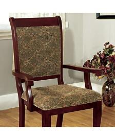 Benzara Mid-Century Modern Style Arm Chair, Set of 2