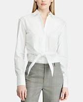 972ac38d692 Lauren Ralph Lauren White Womens Tops - Macy s