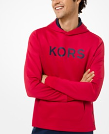 Michael Kors Men's Scuba Side-Snap Logo Hoodie