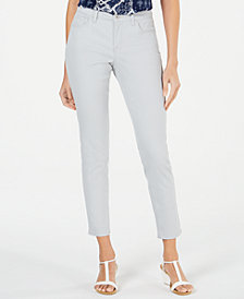 Style & Co Petite Curvy-Fit Skinny Jeans, Created for Macy's
