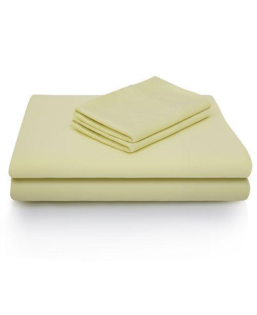 Malouf Woven Rayon from Bamboo King Pillowcase Set