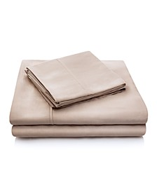 Woven 300 Thread Count Tencel  Split California King Sheet Set
