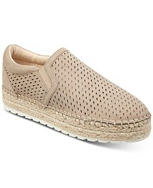 Marc Fisher Mania Perforated Espadrilles